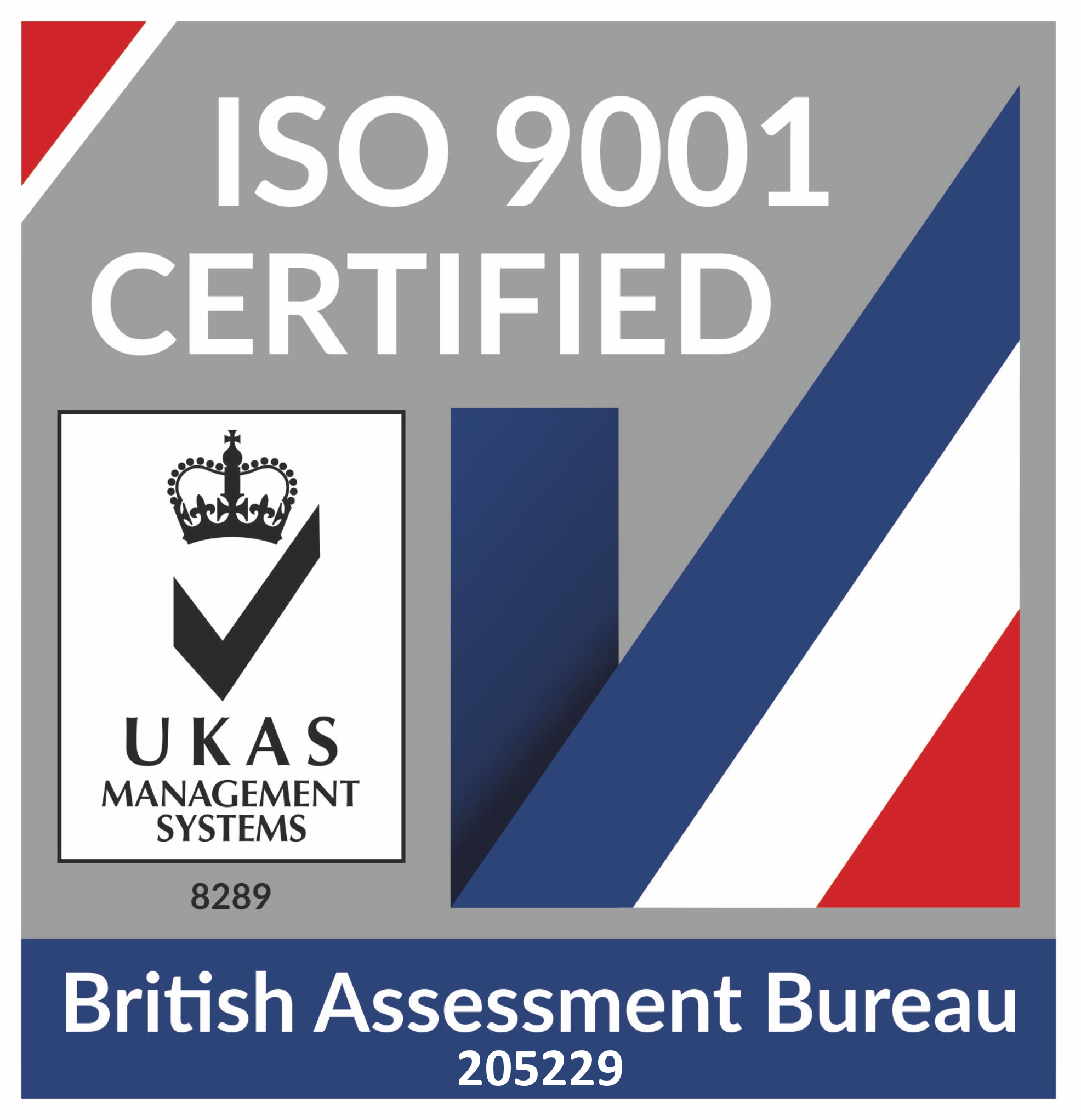 UKCAS ISO 9001